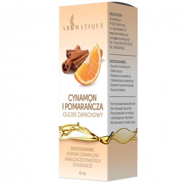 Olejek zapachowy CYNAMON POMARAŃCZA 12 ml 6560