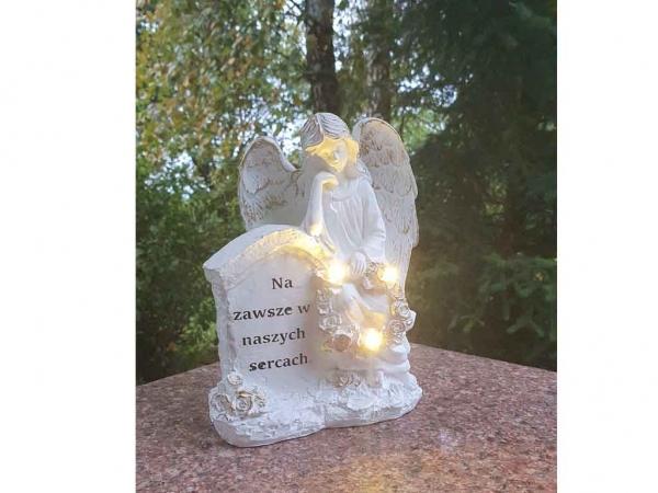 Figurka LED SZ-011B KAPLICZKA - Na zawsze 20cm